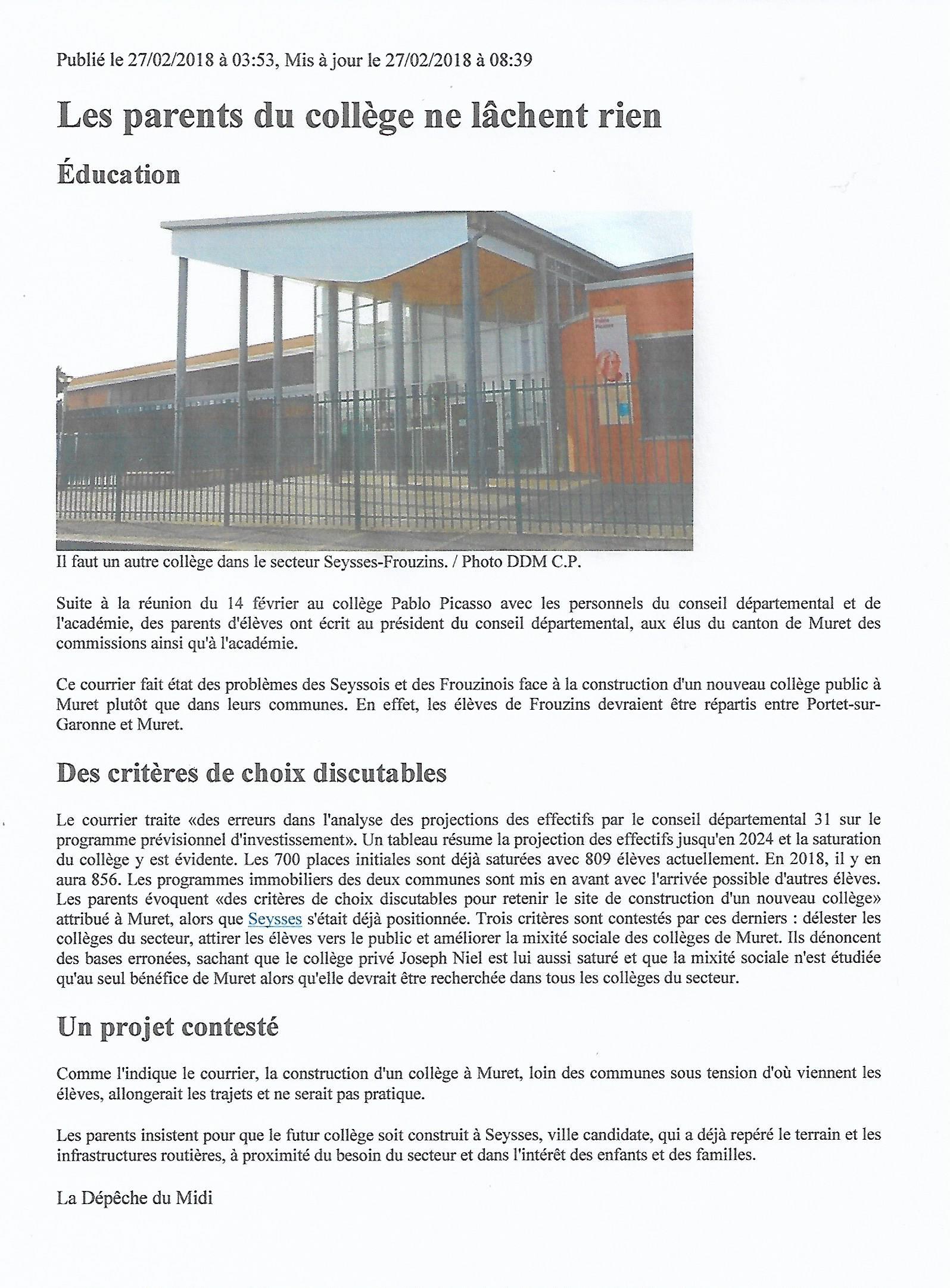 on sale 3a72d 298b3 Un lien social entre les habitants de la commune de Seysses en Haute ...
